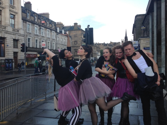 Lady in Edinburgh