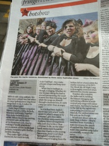 Lady Sings it Better in the Scotsman